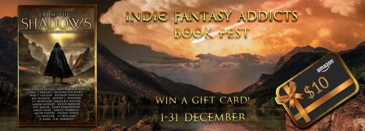 Someone vomited an orange sunset. Indie Fantasy Addicts Book Fest and a chance to win a gift card:  $10 Amazon.com voucher 1-31 December
