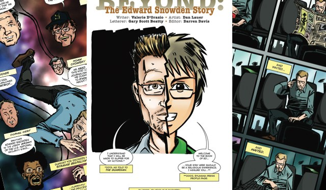 Beyond: Edward Snowden by D'Orazio and Lauer