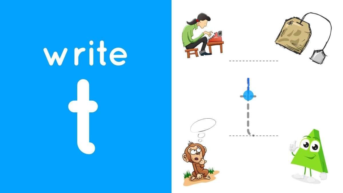 Write Lowercase t (Video) – bookhogs