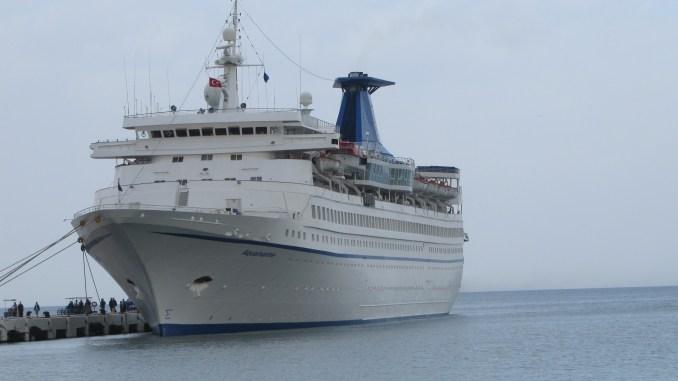 Greek Cruise Ship