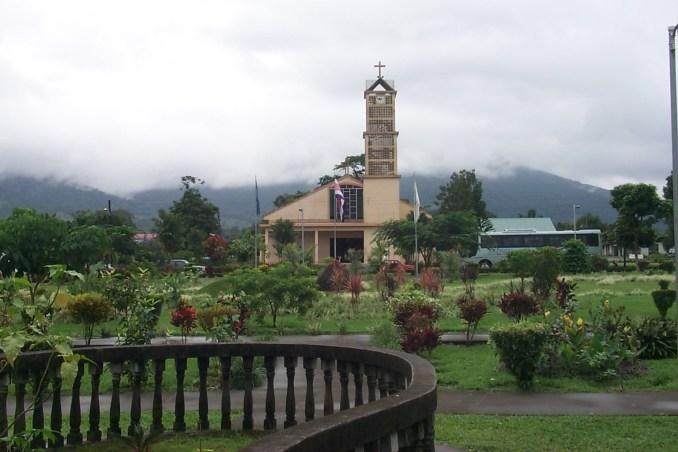 Church in La Fortuna Costa Rica