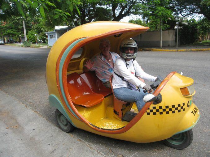 Cuban taxi in Varardero