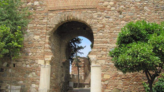 Moor architecture in Malaga