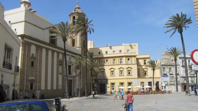 Town square in Cadiz