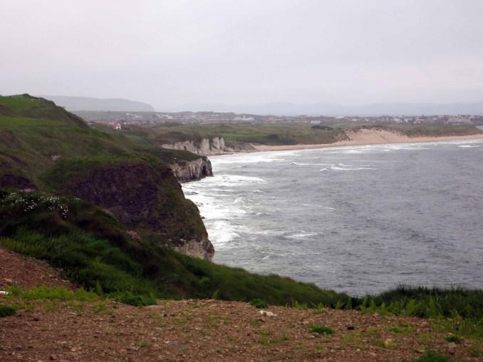 The Antrim Coast south of Portrush