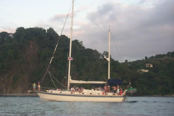 Sailboat at Manuel Antonio Park