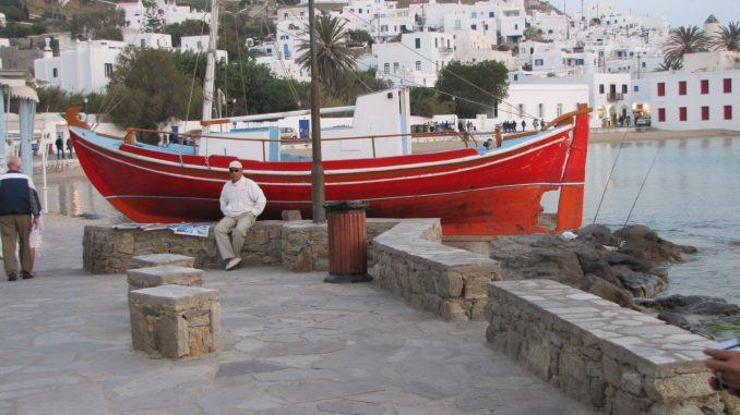 On the Greek Island of Patmos