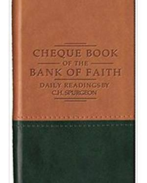 CHEQUEBOOK/BANK/FAITH TAN/GREE