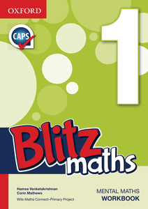 Blitz Maths English Grade 1 Workbook