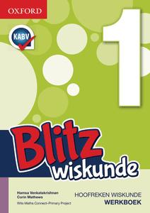 Blitz Wiskunde Graad 1 Werkboek