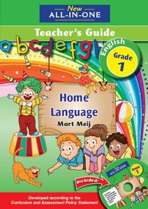 New All-in-One Grade 1 English Home Language Teacher's Guide (CD included)