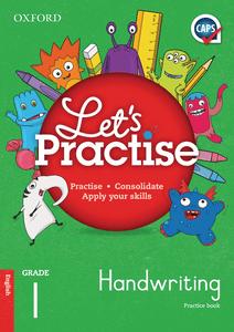 Oxford Let's Practise Handwriting Grade 1