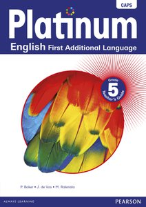 Platinum English First Additional Language Grade 5 Teacher's Guide