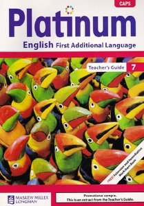 Platinum English First Additional Language Grade 7 Teacher's Guide
