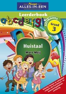 Nuwe Alles-In-Een Graad 3 Huistaal Leerderboek (Volkleur)