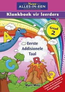 Nuwe Alles-In-Een Graad 2 Eerste Addisionele Taal Klankboek vir leerders Leerderboek (Volkleur)