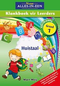 Nuwe Alles-In-Een Graad 1 Huistaal Klankboek vir leerders Leerderboek (Volkleur)