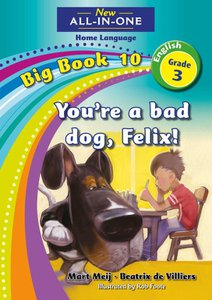 New All-in-One Grade 3 English Home Language Big Book 10 : You're a bad dog, Felix!