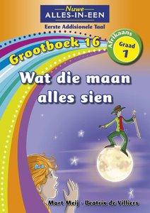 Nuwe Alles-in-Een Graad 1 Afrikaans Eerste Addisionele Taal Grootboek 16 : Wat die maan alles sien
