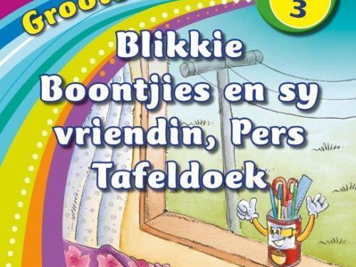 Nuwe Alles-in-Een Graad 3 Grootboek 8 : Blikkie Boontjies en sy vriend, Pers Tafeldoek