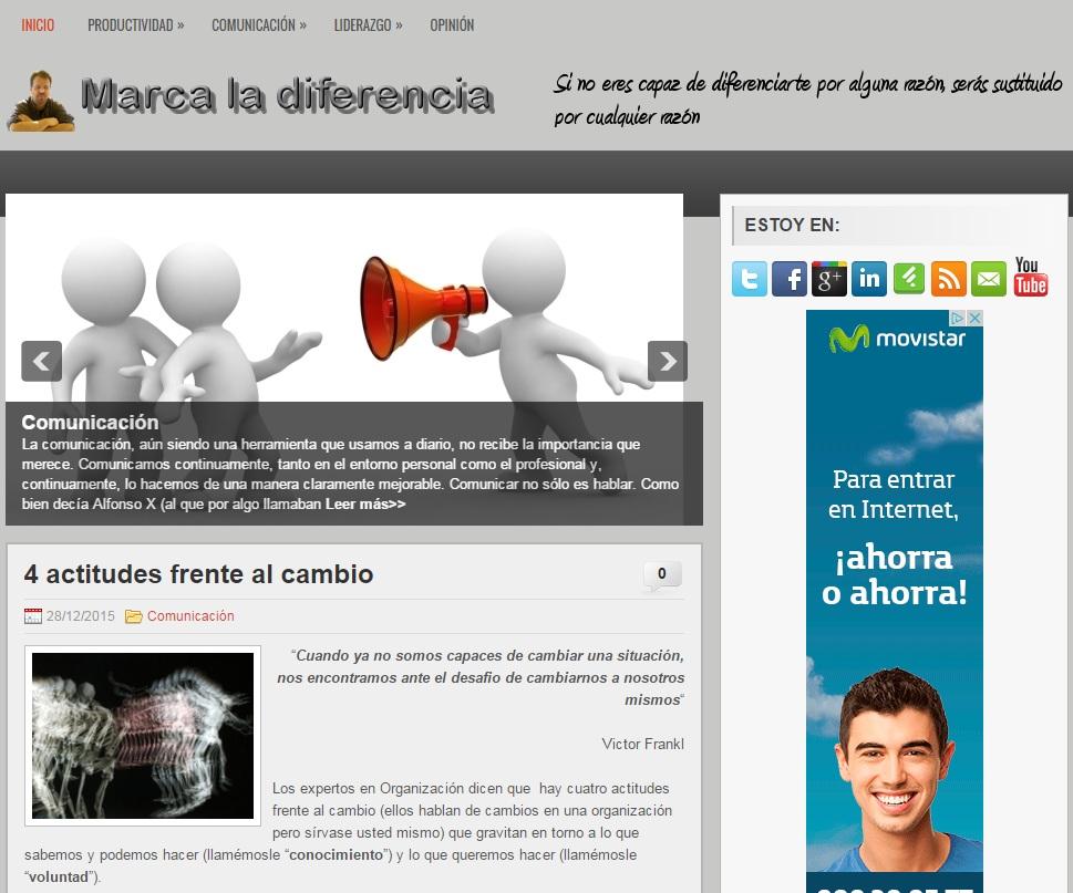 Marca la diferencia Ruben Alzola