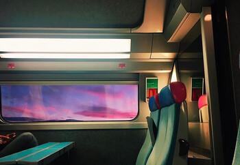 Во Франции тысячи человек оказались заблокированы в поездах из-за сбоя в электросистеме