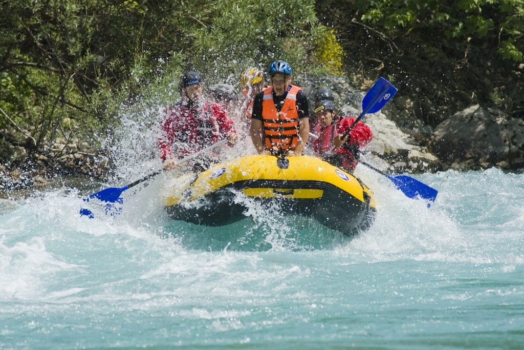 white water rafting with Booking Express Travel
