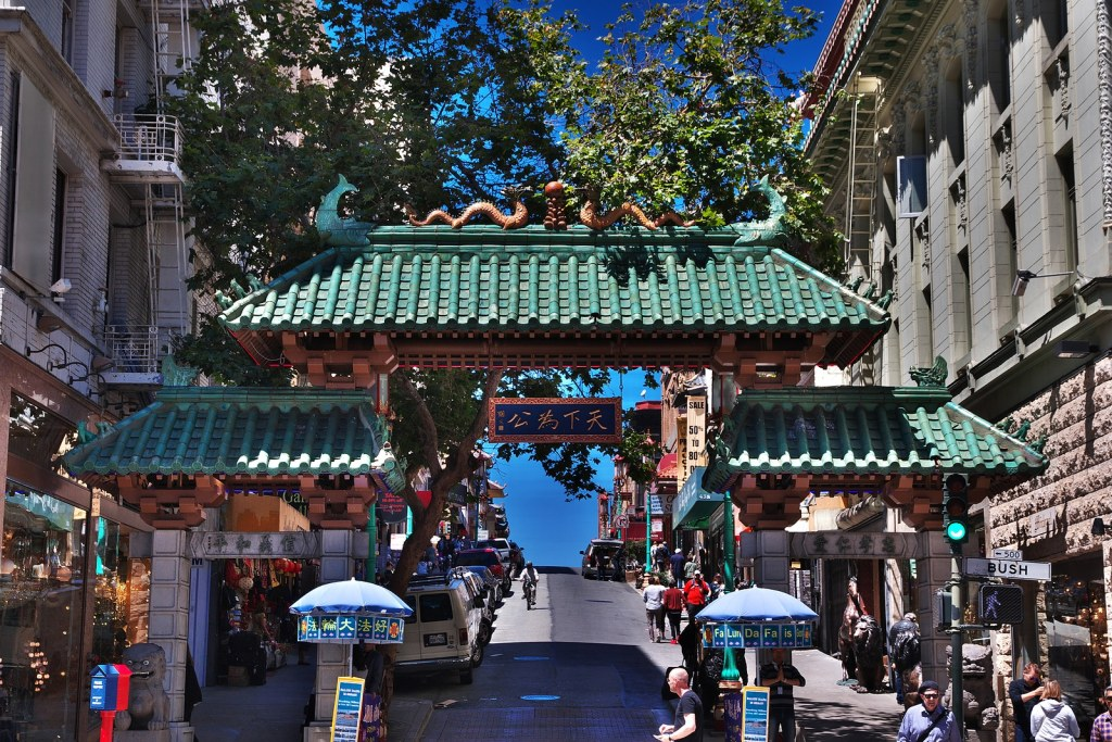 Chinatown in San Francisco by Booking Express Travel