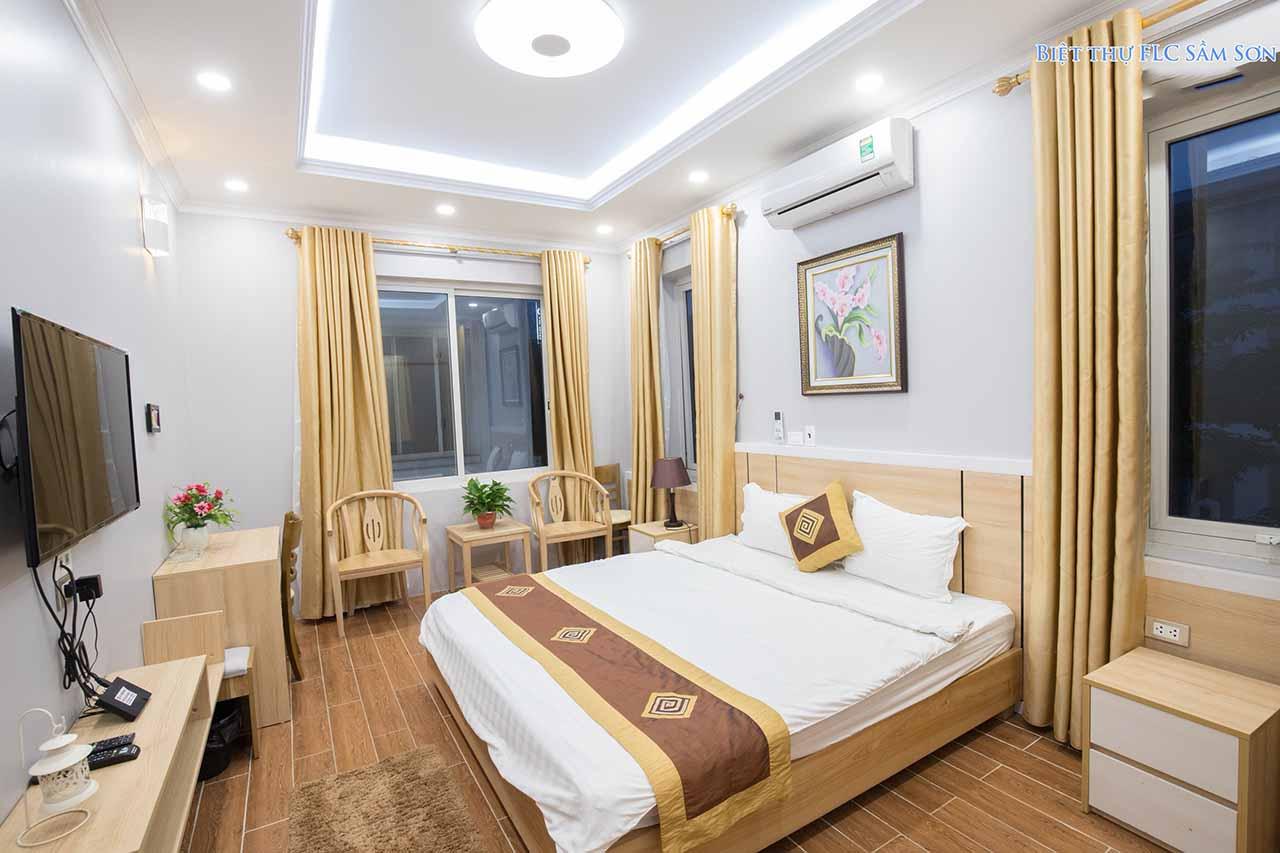Phòng ngủ biệt thự FLC Sầm Sơn