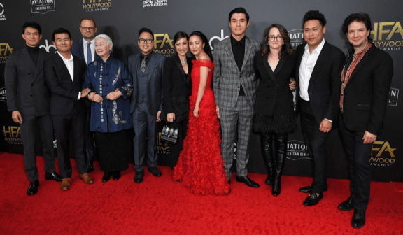Cast of Crazy Rich Asians