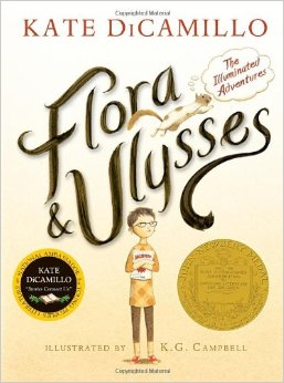 Loving Life & Giant Donuts: Review–Flora and Ulysses: The Illuminated Adventures (2013) by Kate DiCamillo
