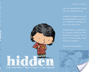 Hidden: A Child's Story of the Holocaust (2014) by Loic Dauvillier, Marc Lizano, & Greg Salsedo