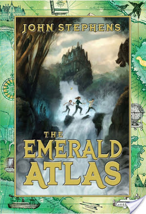 """An enchanted world, a powerful book, and three children of destiny: """"E"""" is for The Emerald Atlas: The Book of Beginnings (2011) by John Stephens #AtoZchallenge"""