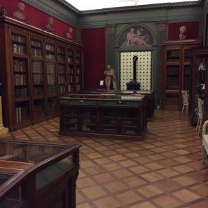 Boekzaal in Museum Meermanno