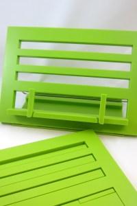 Boekenhouder groen