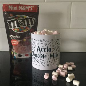 Booklove Specialty Shop Mok Accio Chocolate Milk