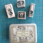 The Locket Library: Stamps Alice in Wonderland