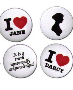 Jane Austen buttons