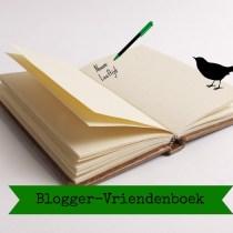 Blogger-Vriendenboek Zwartraafje