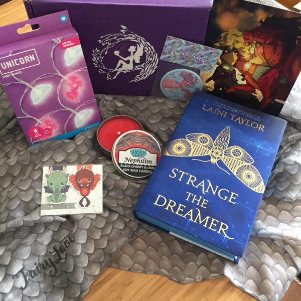 Fairyloot unboxing 1