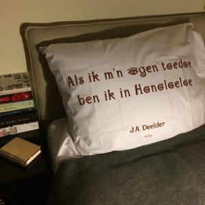 Kussensloop Plint - J.A. Deelder