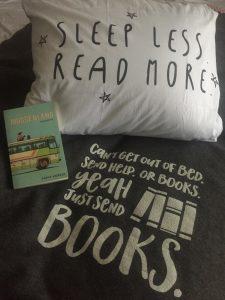 Kussen Sleep less, read more