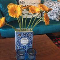 Bibliophile Vase