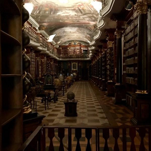 Klementinum bibliotheek