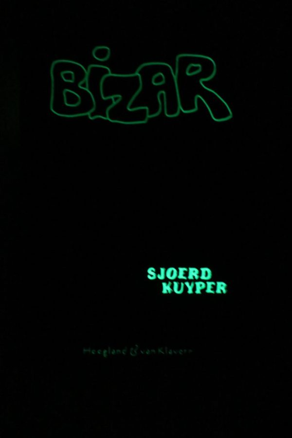 Bizar glow in the dark cover