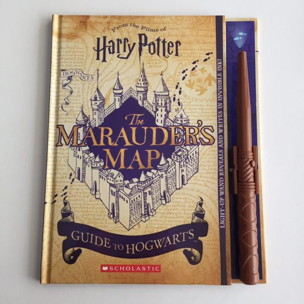 Boek Marauder's map : guide to Hogwarts