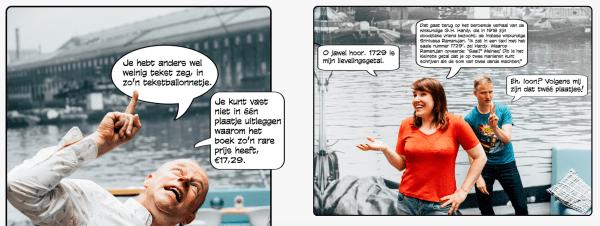 Ype & Ionica in De Volkskrant