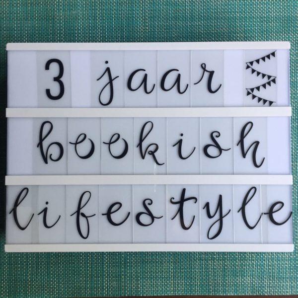 3 jaar Bookish Lifestyle