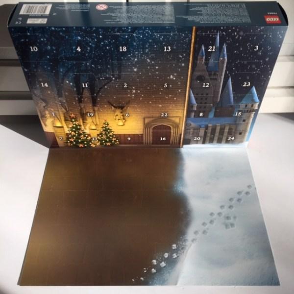 Harry Potter Lego adventkalender binnenzijde