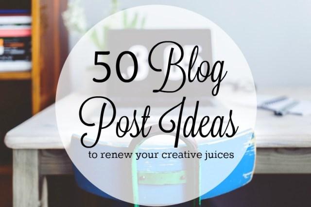50blogpostideas